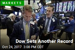 Dow Sets Another Record