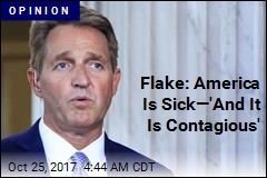 Jeff Flake Says, Simply, 'Enough'