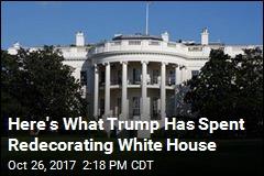 White House Redecorating Bill Under Trump: $1.75M