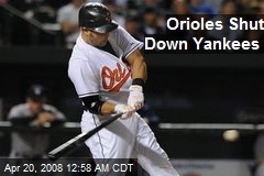 Orioles Shut Down Yankees