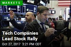 Tech Companies Lead Stock Rally