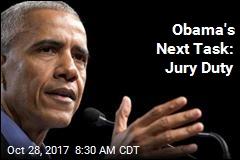 Obama's Next Task: Jury Duty