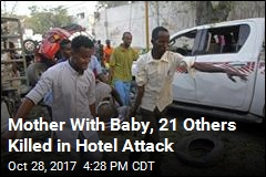 23 Dead, Over 30 Wounded in Mogadishu Hotel Attack