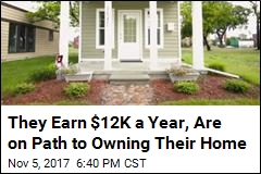 They Earn $12K a Year, Are on Path to Owning Their Home