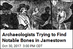 In Jamestown, a Tough Quest: Find De La Warr's Bones