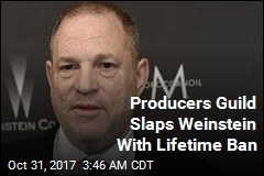 Producers Guild Slaps Weinstein With Lifetime Ban