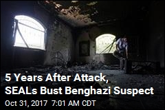 5 Years After Attack, SEALs Bust Benghazi Suspect