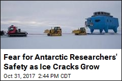 Antarctic Station to Close— Again—as Ice Cracks Grow