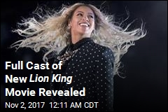 Beyonce Joins Lion King Cast