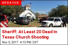 At Least 27 Dead in Texas Church Shooting