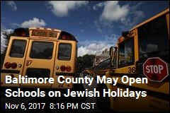 Officials Debate Keeping Schools Open on Jewish Holidays