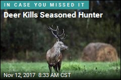 Charging Deer Kills Hunter