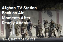 Kabul TV Station Back on Air Moments After Attack Ends