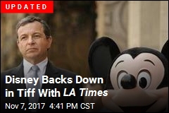Critics Groups Blacklist Disney Films Over LA Times Tiff