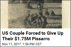 US Couple Forced to Give Up Their $1.75M Pissarro