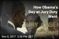 Obama Serves Jury Duty