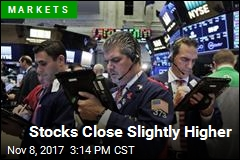 Stocks Close Slightly Higher