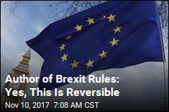 Brexit Rule Author: Of Course Britain Can Change Its Mind