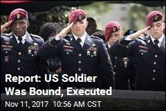 Report: US Soldier Was Bound, Executed