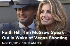 Faith Hill, Tim McGraw Want 'Common Sense' Gun Control