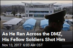 North Korean Guards Shoot Fellow Soldier as He Defects