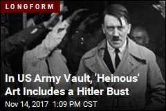 In Vault, US Army Keeps 3-Foot Bust of Hitler