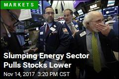 Slumping Energy Sector Pulls Stocks Lower
