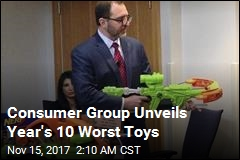 Consumer Group Unveils Year's 10 Worst Toys