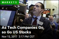 Tech Companies Lead Losses for US Stocks