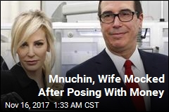 mnuchin wife mocked after posing with money memes news stories about memes page 1 newser