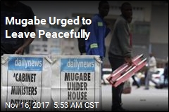 Mugabe Urged to Leave Peacefully