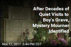Mystery Mourner at Boy's Grave Revealed After Decades