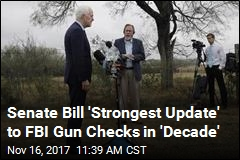 GOP, Dem Senators Back Bill to Bolster FBI Gun Checks