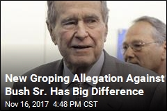 Woman Claims Bush Sr. Groped Her During Presidency