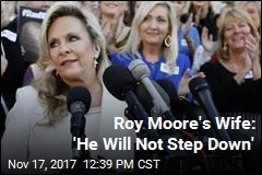 Roy Moore's Wife Defiantly Defends Husband
