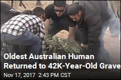 Oldest Australian Human Returned to 42K-Year-Old Grave