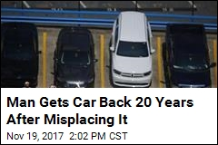 Man Gets Car Back 20 Years After Misplacing It