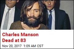 Charles Manson Dead at 83