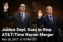 Justice Dept. Sues to Stop AT&T/Time Warner Merger