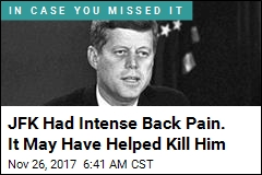 JFK Was Felled by a Bullet, but His Bad Back Didn't Help