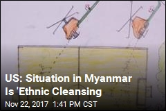 US Accuses Myanmar of 'Ethnic Cleansing' Against Rohingya