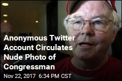 Anonymous Twitter Account Circulates Nude Photo of Congressman