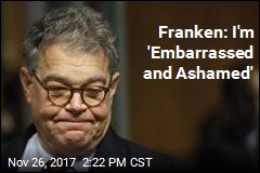 'Ashamed' Franken to Return to Work Monday