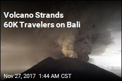 Volcano Strands 60K Travelers on Bali