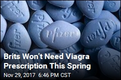 Brits Won't Need Viagra Prescription This Spring