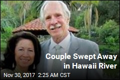 Couple Swept Away in Hawaii River