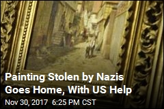 Painting Stolen by Nazis Goes Home, With US Help