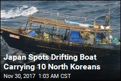 Japan Spots Drifting Boat Carrying 10 North Koreans
