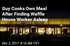 Man Finds Waffle House Worker Asleep, Cooks Own Meal