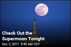 Supermoon on View Tonight